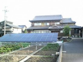 自宅の太陽光発電